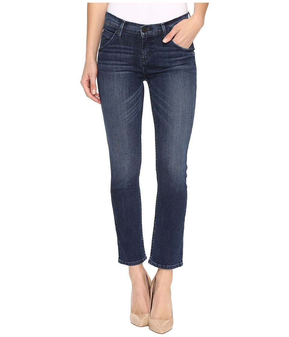 Hudson - Bailee Mid-Rise Crop Baby Boot Flap in Moonshine (Moonshine) Women's Jeans