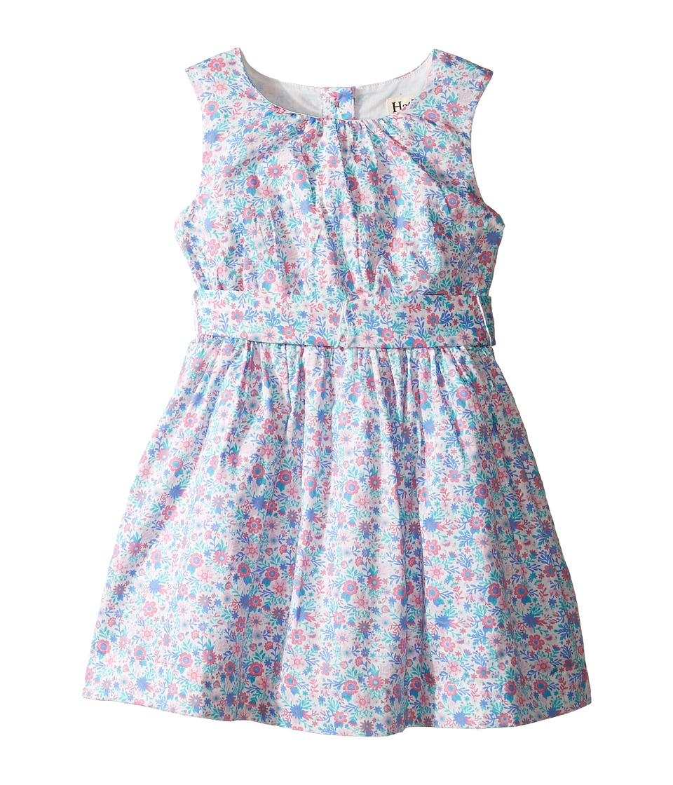 Hatley Kids - Garden Floral Lined Party Dress (Toddler/Little Kids/Big Kids) (White) Girl's Dress