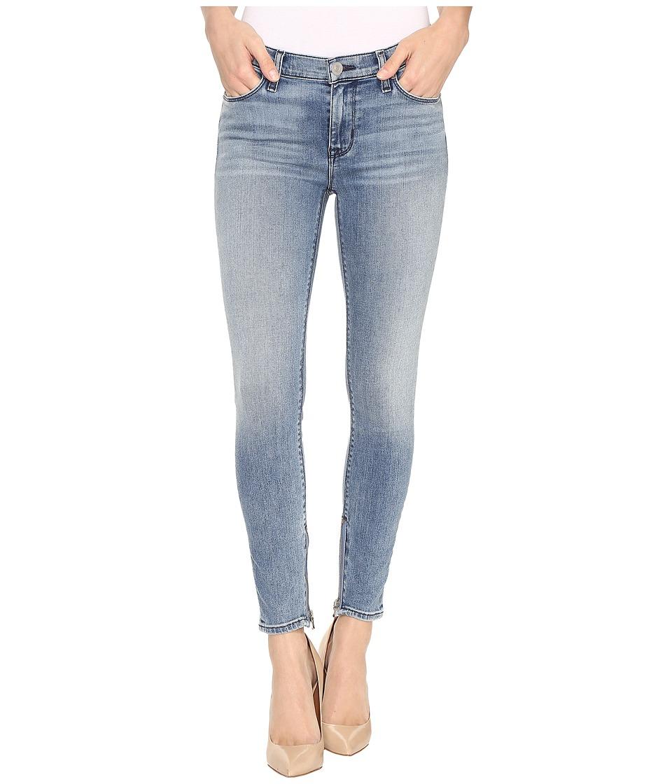 Hudson - Nico Mid-Rise Skinny w/ Ankle Zip in Shotgun (Shotgun) Women's Jeans