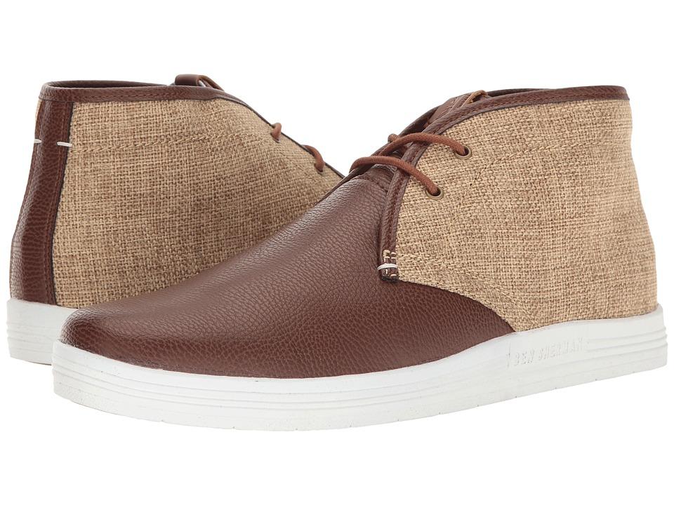 Ben Sherman - Vance (Cognac/Linen) Men's Lace up casual Shoes