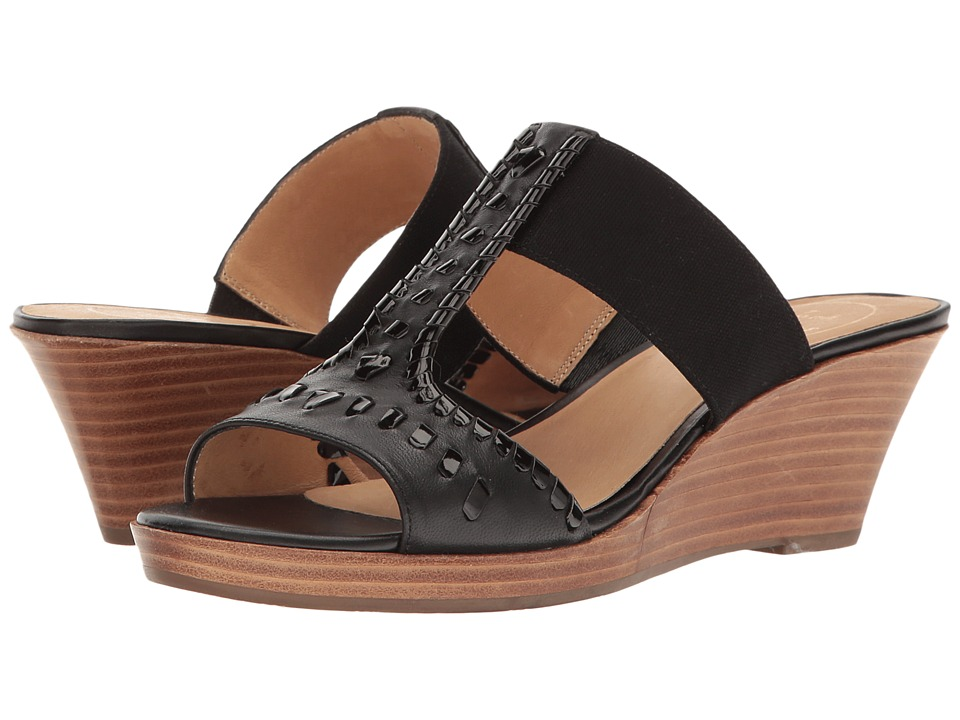 Jack Rogers - Nora (Black) Women's Wedge Shoes