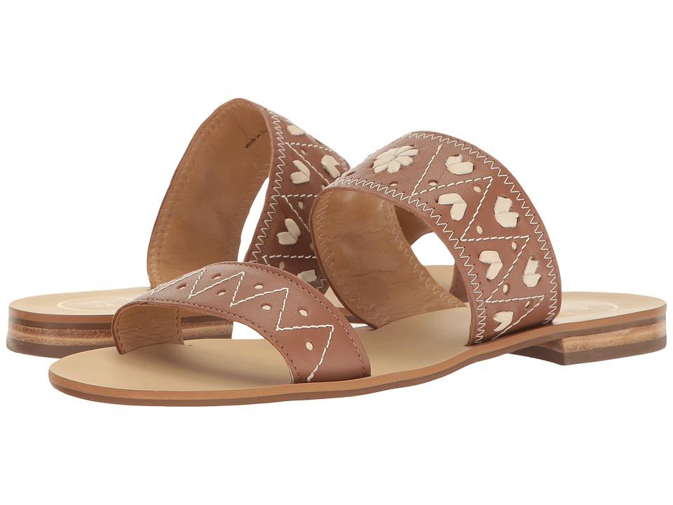 Jack Rogers - Adair (Cognac/Bone) Women's Sandals