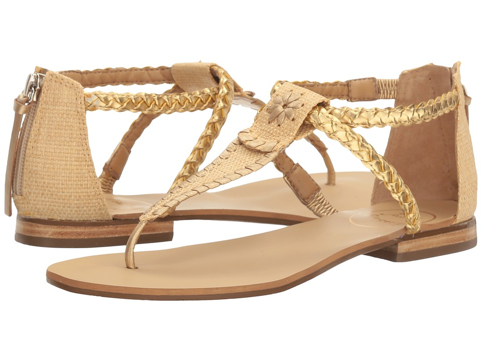 Jack Rogers - Jenna (Natural/Gold) Women's Sandals