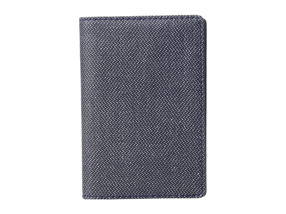 Skagen - Kvarter Front Pocket Wallet (Ink) Wallet Handbags