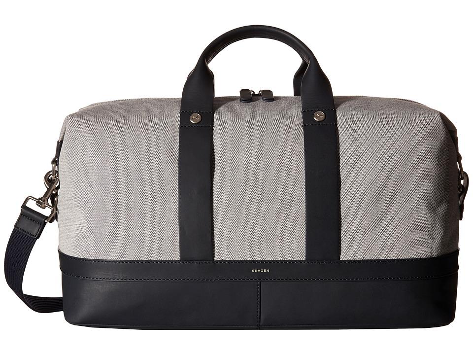 Skagen - Riis Fabric Weekender Duffel (Ink) Duffel Bags