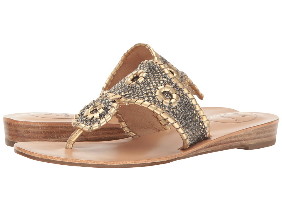 Jack Rogers - Carissa (Black/Gold) Women's Sandals
