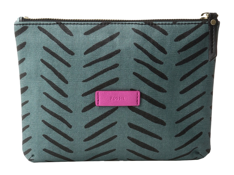 Fossil - Keely Double Pouch Gift (Herringbone) Travel Pouch