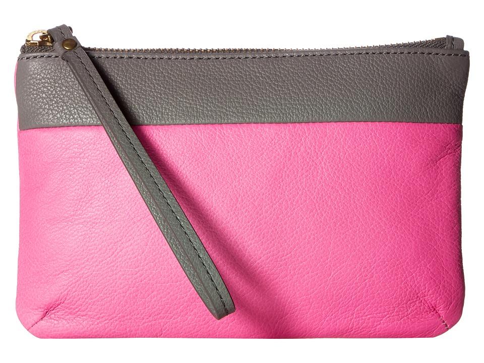 Fossil - Keely Wristlet (Pink Multi) Wristlet Handbags