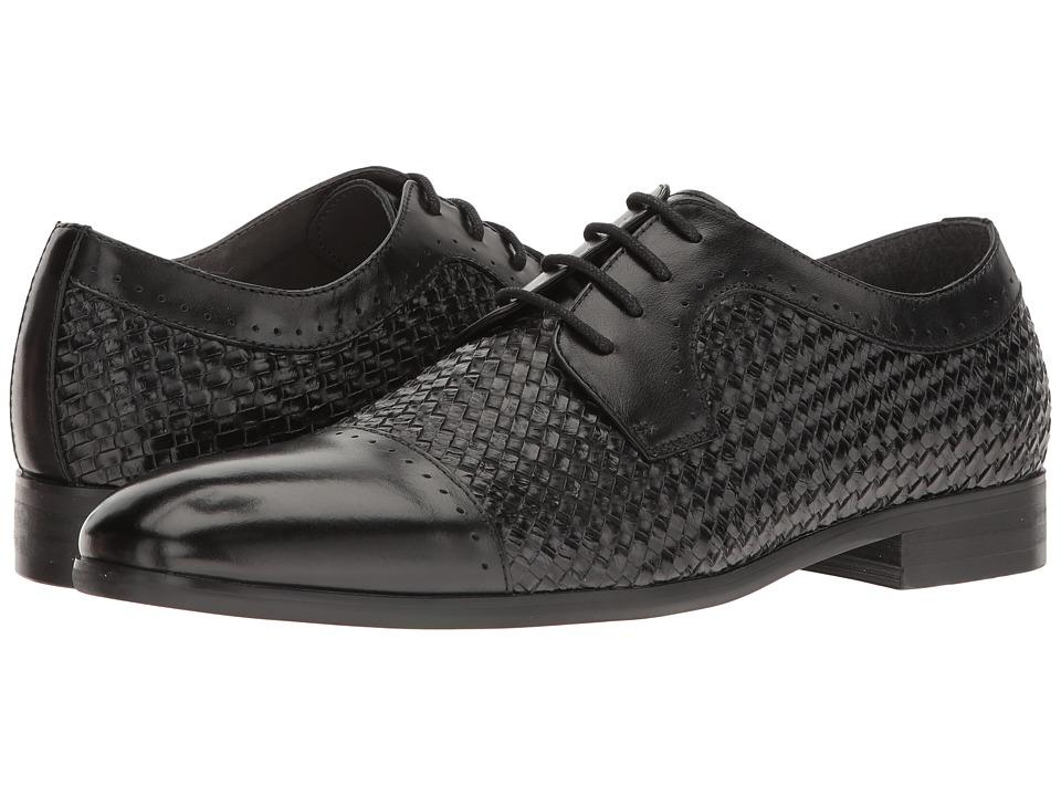 Steve Madden - Creamer (Black) Men's Lace up casual Shoes