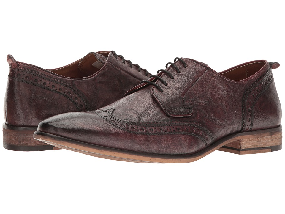 Steve Madden - Analog (Burgundy) Men's Lace up casual Shoes