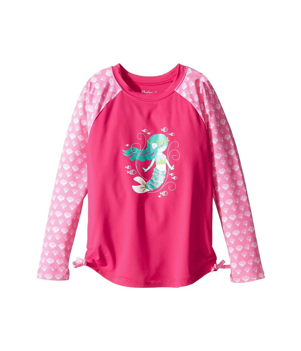 Hatley Kids - Sweet Mermaid Rashguard (Toddler/Little Kids/Big Kids) (Pink) Girl's Swimwear