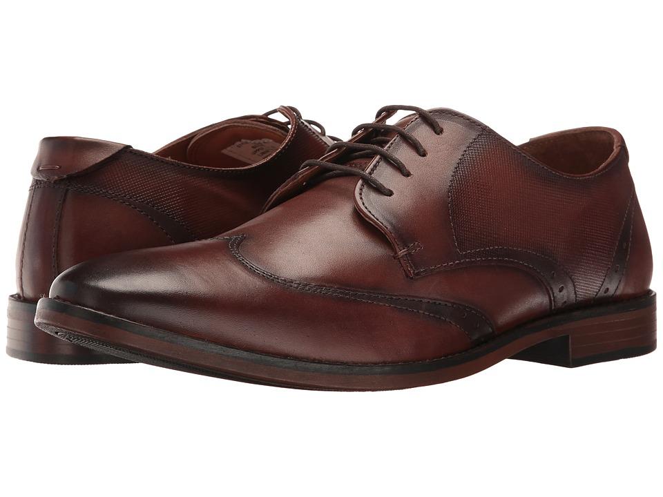 Steve Madden - Shaww (Cognac) Men's Lace up casual Shoes