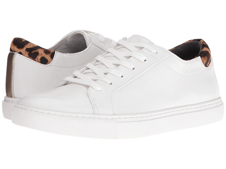 Kenneth Cole New York - Kam (White/Safar Leopard) Women's Shoes