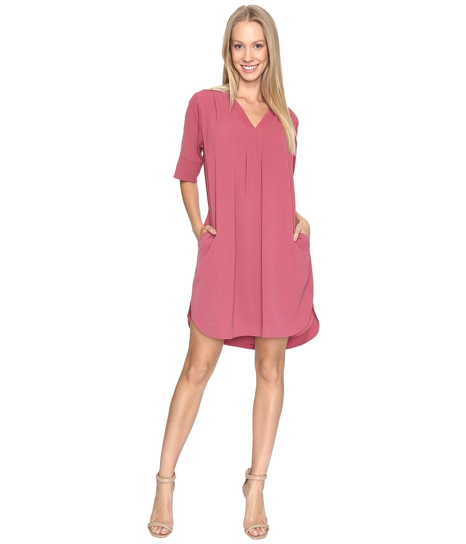 B Collection by Bobeau - Loren Shirtdress (Rose) Women's Dress