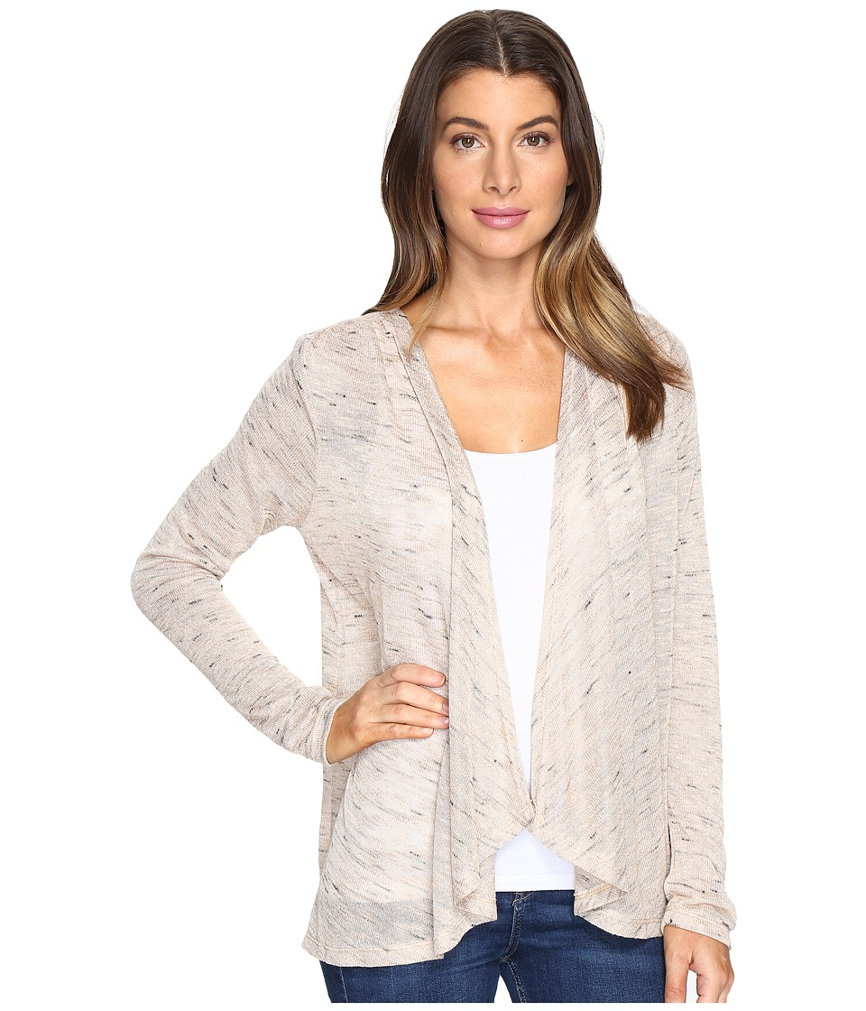 B Collection by Bobeau - Leeverne Knit Cardi (Sand) Women's Sweater
