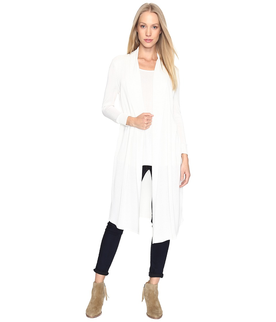 B Collection by Bobeau - Pullover Sweater w/ Cardigan (White) Women's Sweater