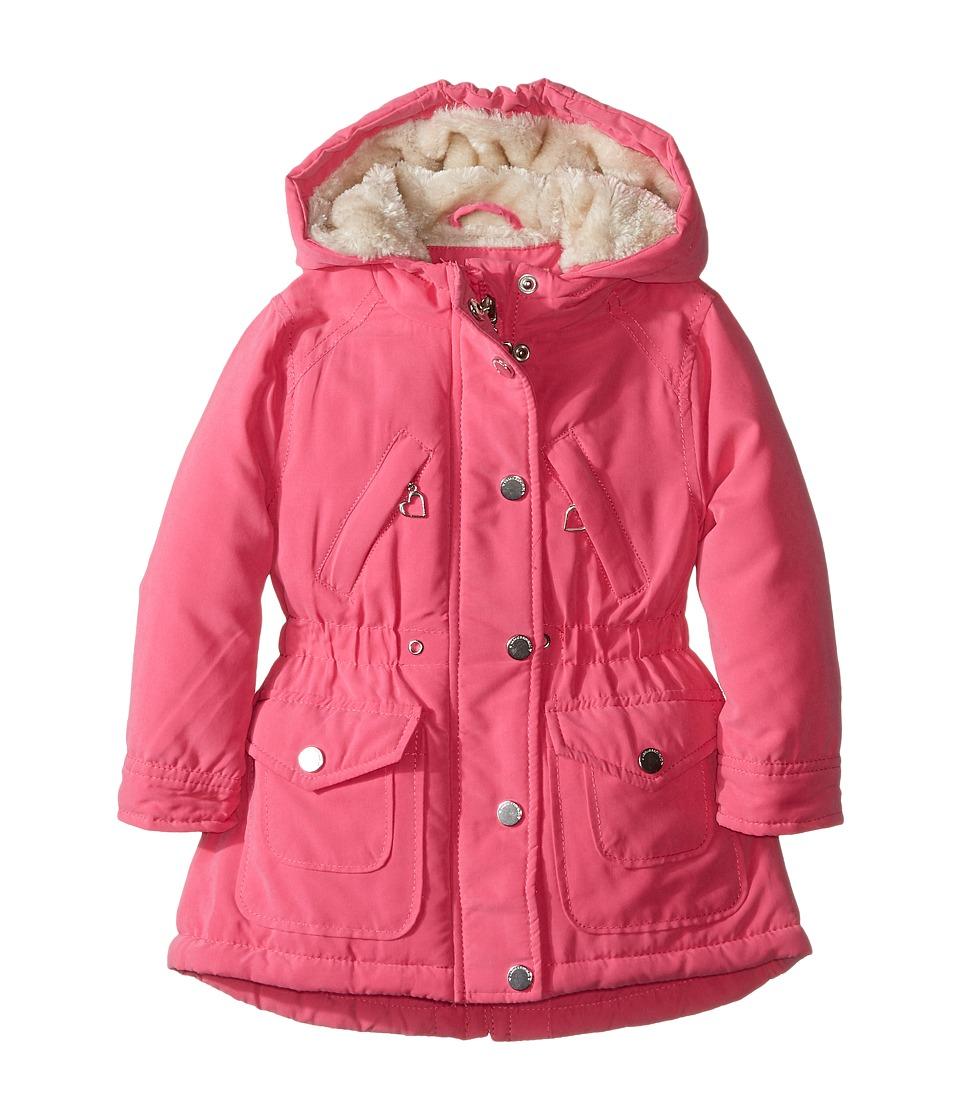 Urban Republic Kids - Peach-Finish Microfiber Jacket (Infant/Toddler) (Pink) Girl's Coat