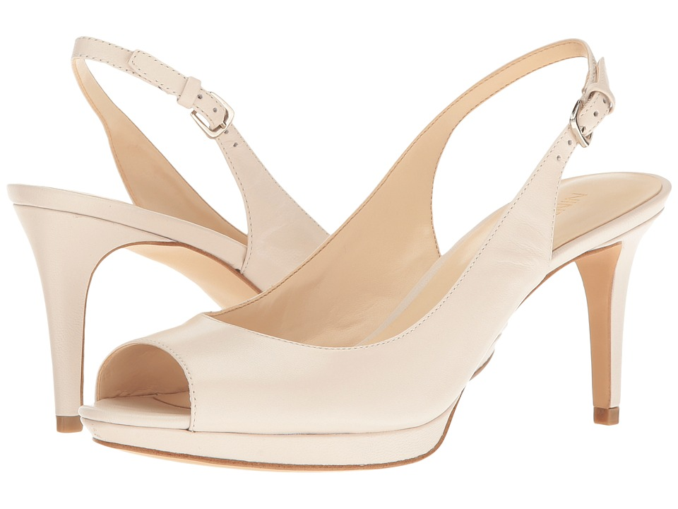 Nine West - Gabrielle (Off-White Leather) Women's Shoes