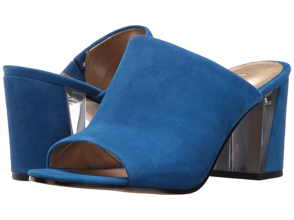 Nine West - Gemily (Blue Suede) Women's Shoes