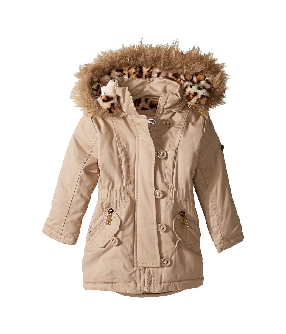 Urban Republic Kids - Cotton Twill Anorak Jacket (Infant/Toddler) (Stone) Girl's Coat