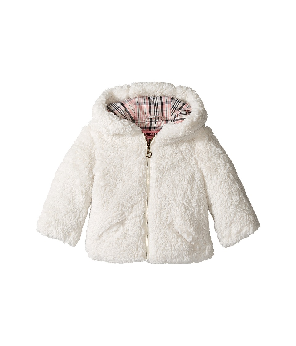 Urban Republic Kids - Sherpa Jacket (Infant/Toddler) (Ivory) Girl's Coat
