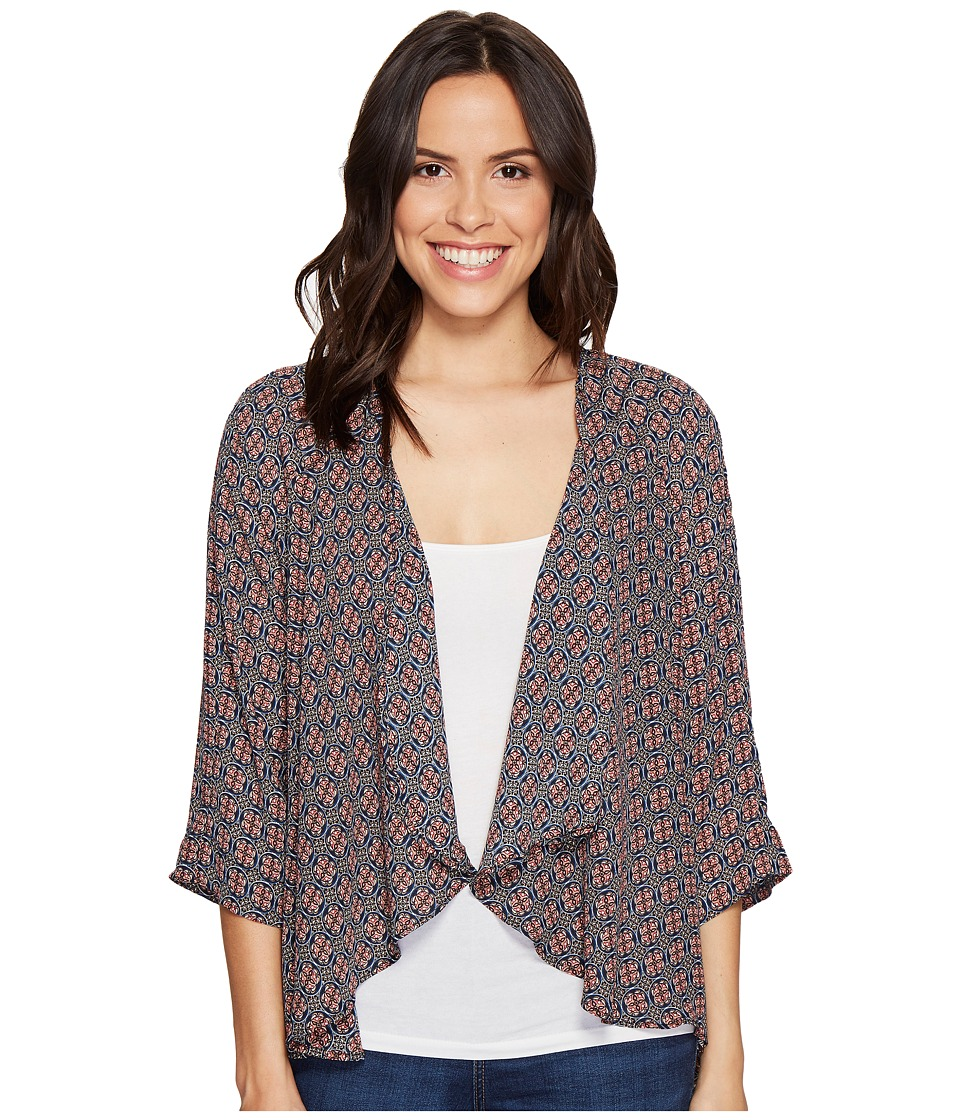 B Collection by Bobeau - Emily Cardigan (Berry) Women's Sweater