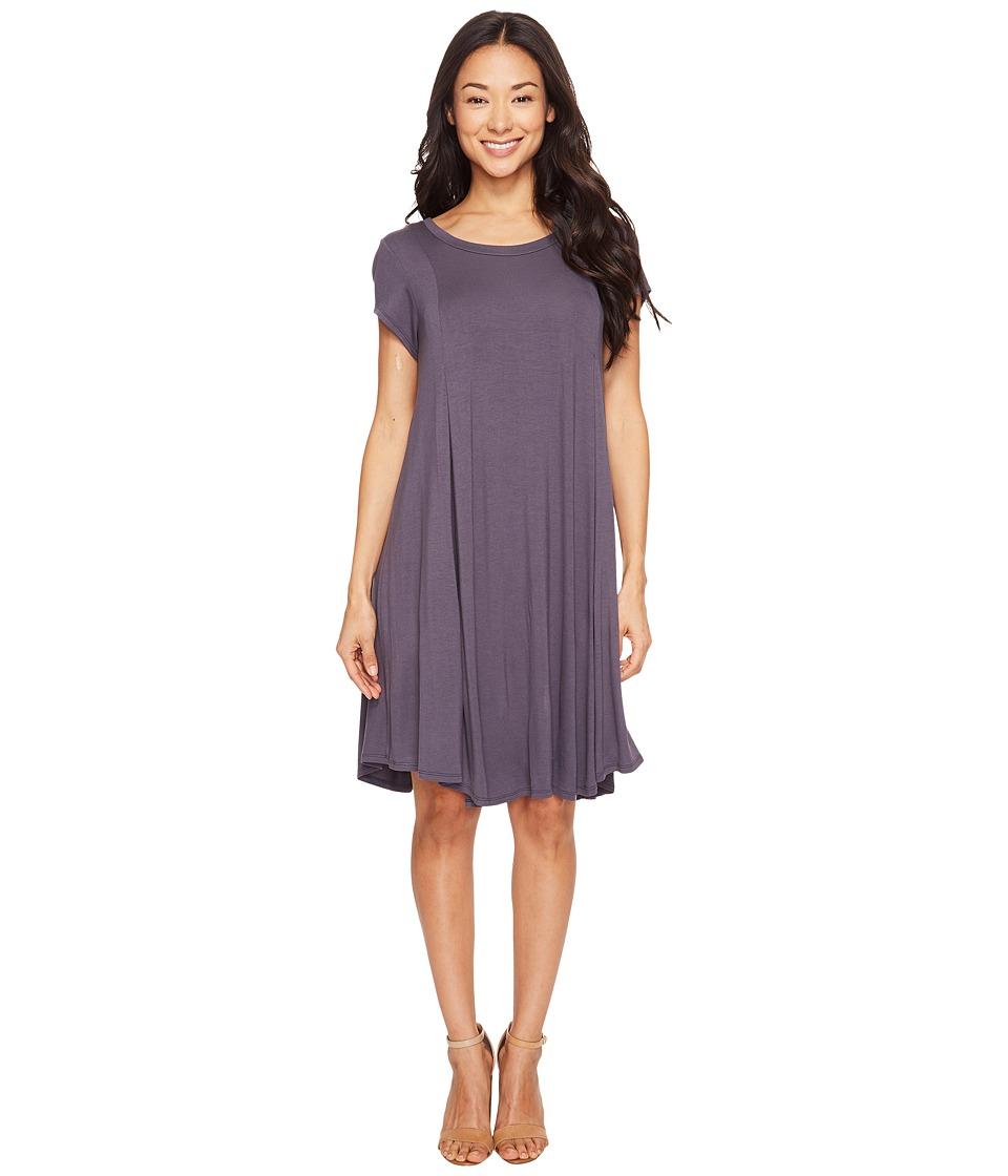 B Collection by Bobeau - Cody Knit Dress (Steel) Women's Dress