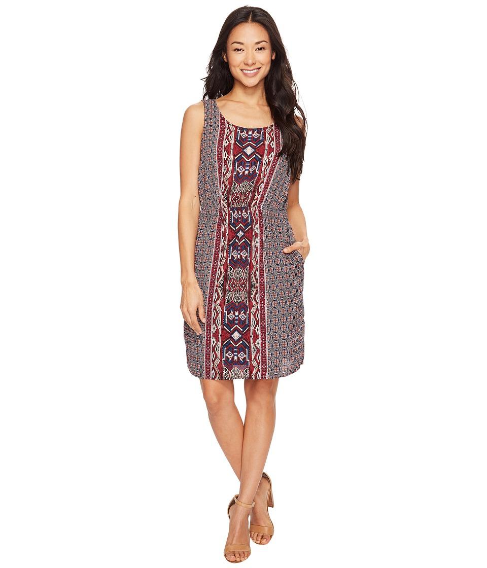 B Collection by Bobeau - Ashley Woven Tank Dress (Berry) Women's Dress