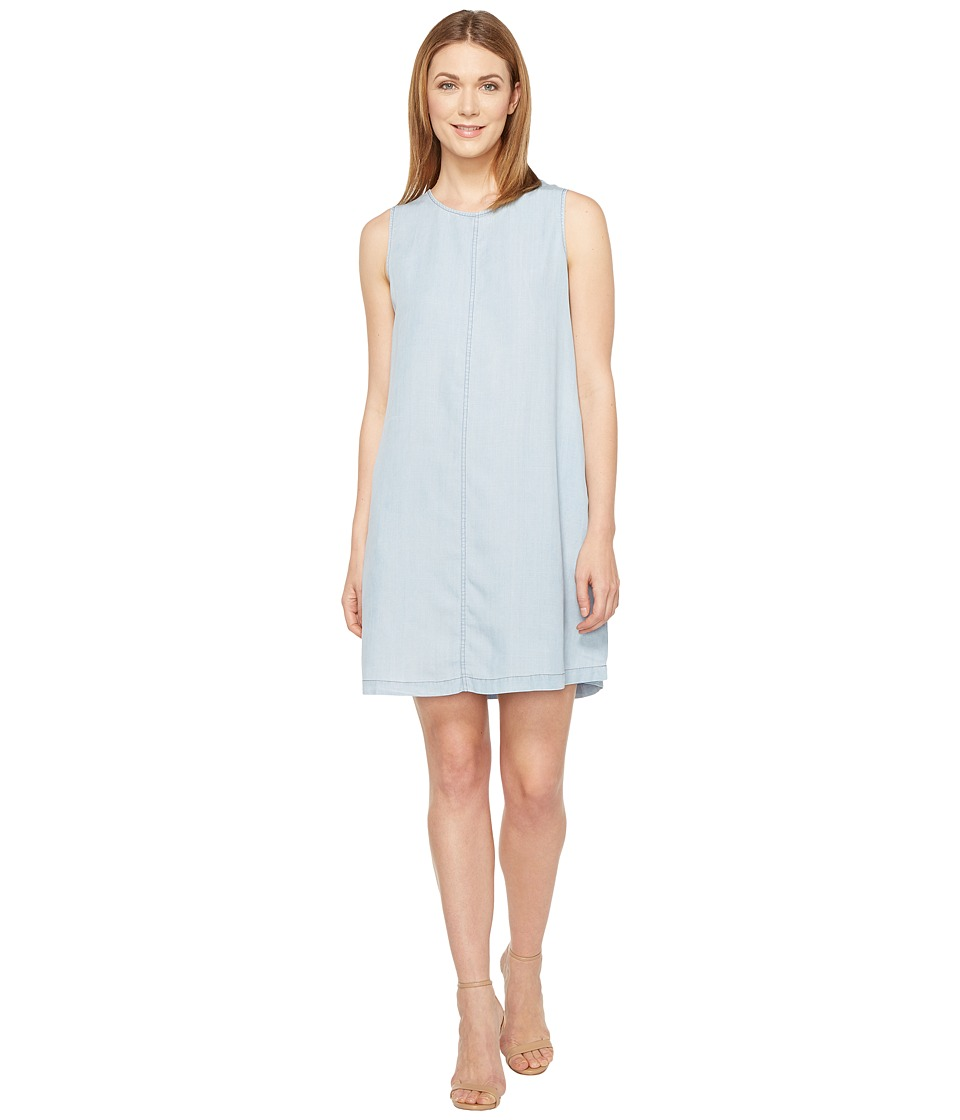 B Collection by Bobeau - Laura Lyocell A-Line Dress (Chambray) Women's Dress