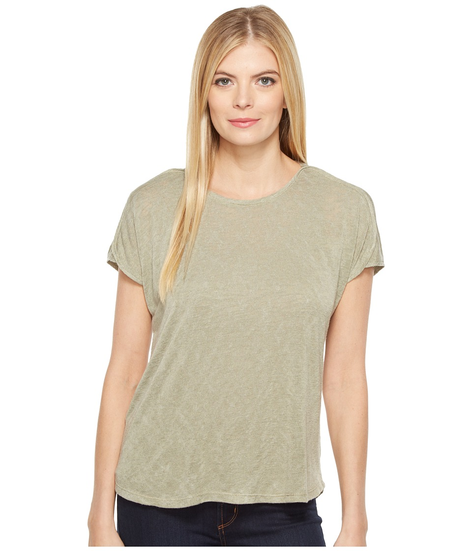 B Collection by Bobeau - Avery Boat Neck T-Shirt (Avocado) Women's T Shirt