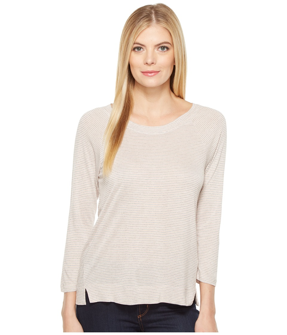B Collection by Bobeau - Sunny Tie Back Knit (Peony) Women's Long Sleeve Pullover