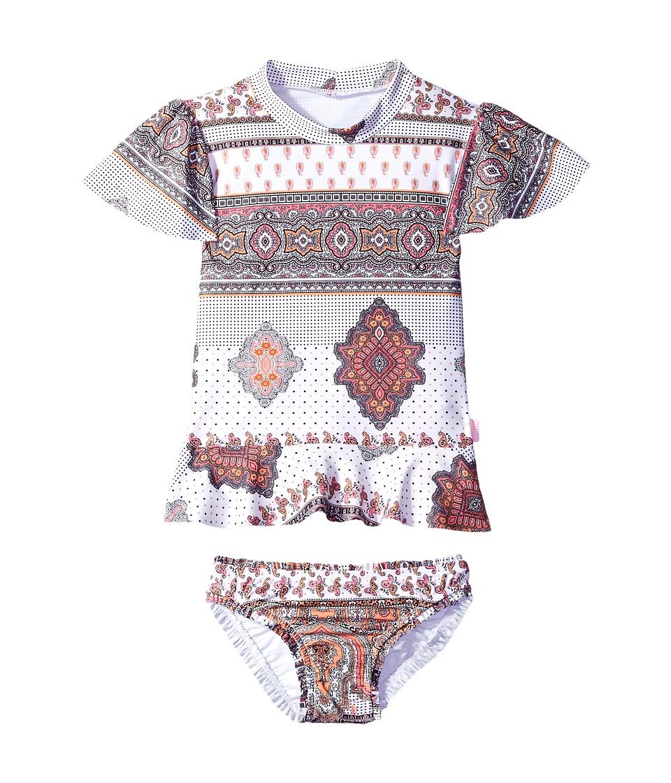 Seafolly Kids Moroccan Paisley Rashie Set (Infant/Toddler/Little Kids) (Multi) Girl