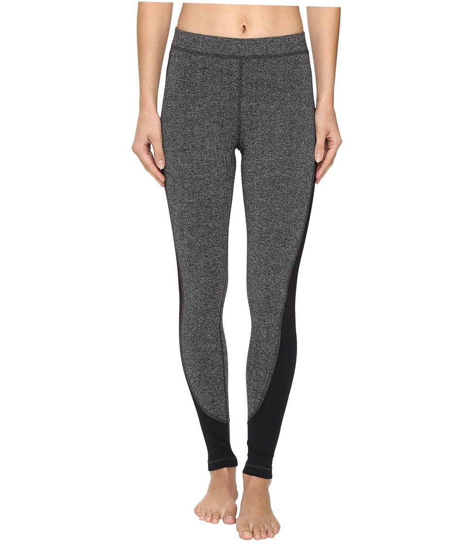 Tonic - Go For It Leggings (Herringbone/Black) Women's Workout