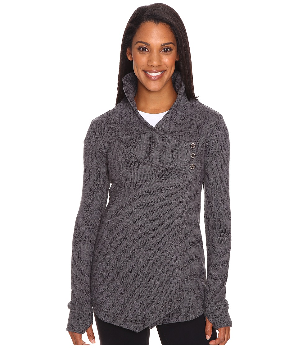 Tonic - Expansion Wrap (Black Sesame) Women's Sweater