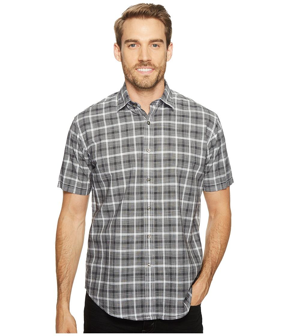 8760c7b728c UPC 613053241841 product image for James Campbell - Oakley Short Sleeve  Woven Shirt (Black) ...