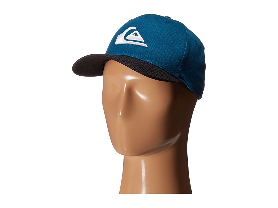 Quiksilver - Mountain and Wave Hat (Moroccan Blue) Caps