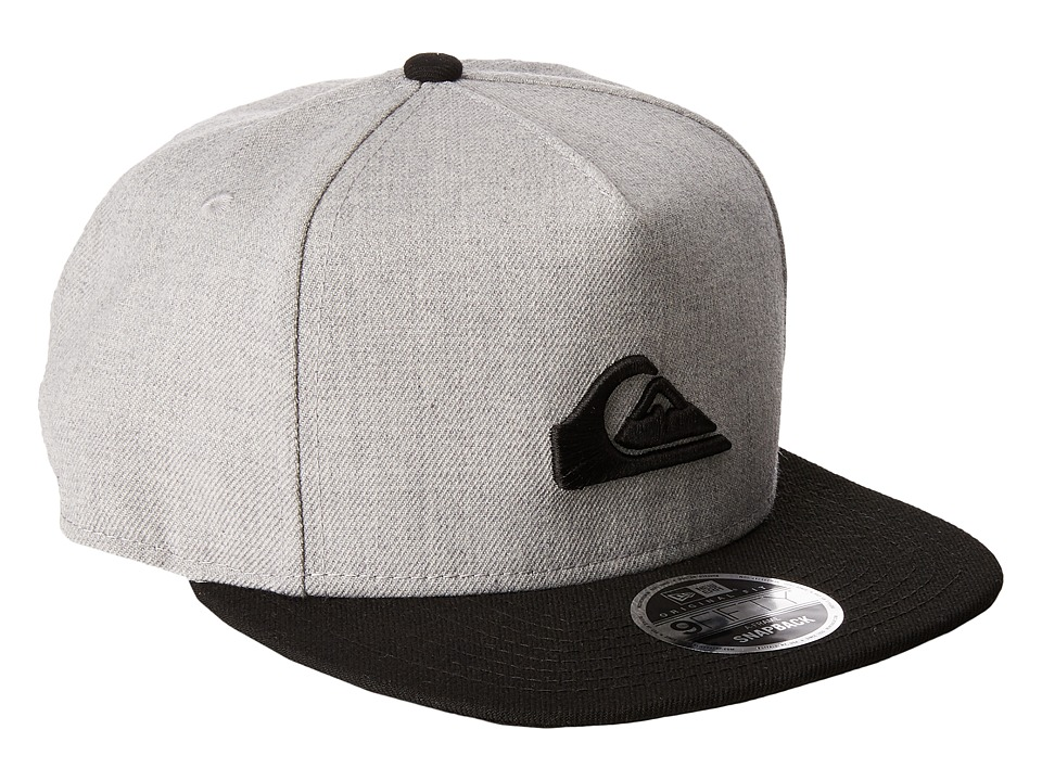Quiksilver - Stuckles Snap Hat (Charcoal Heather) Caps