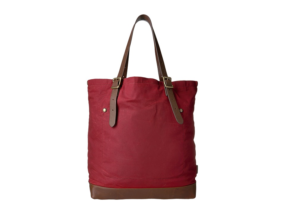 Fossil - Defender Tote (Red) Tote Handbags