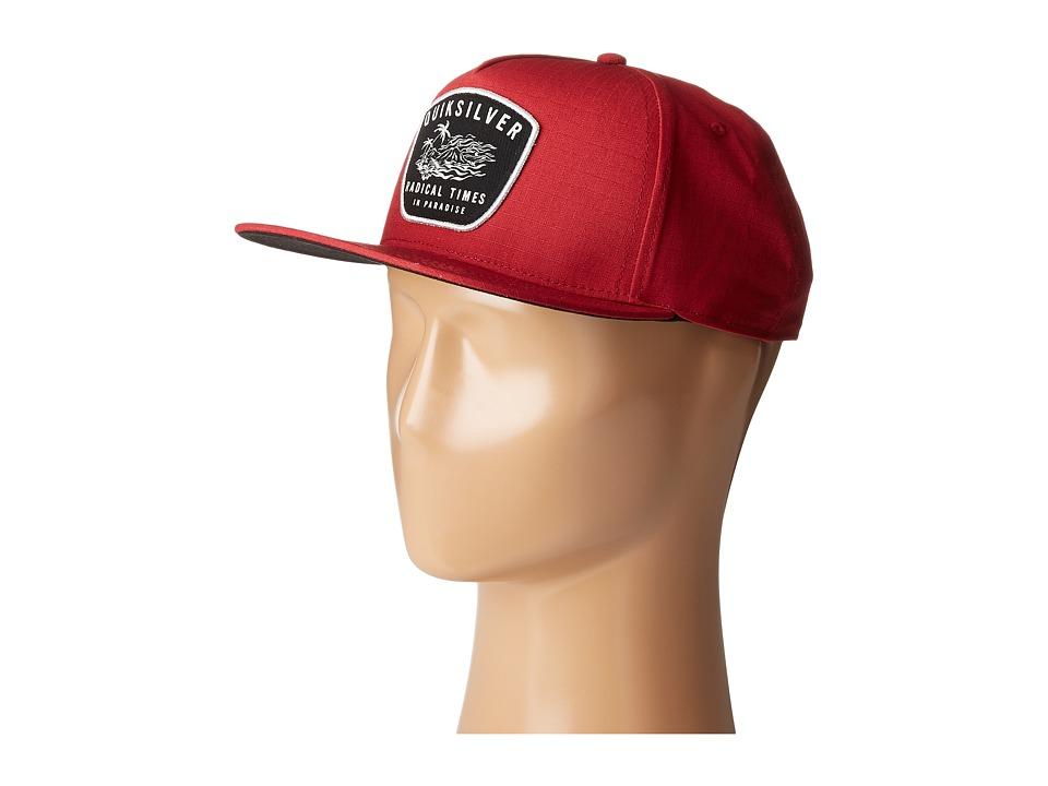 Quiksilver - Racked Hat (Cardinal) Caps