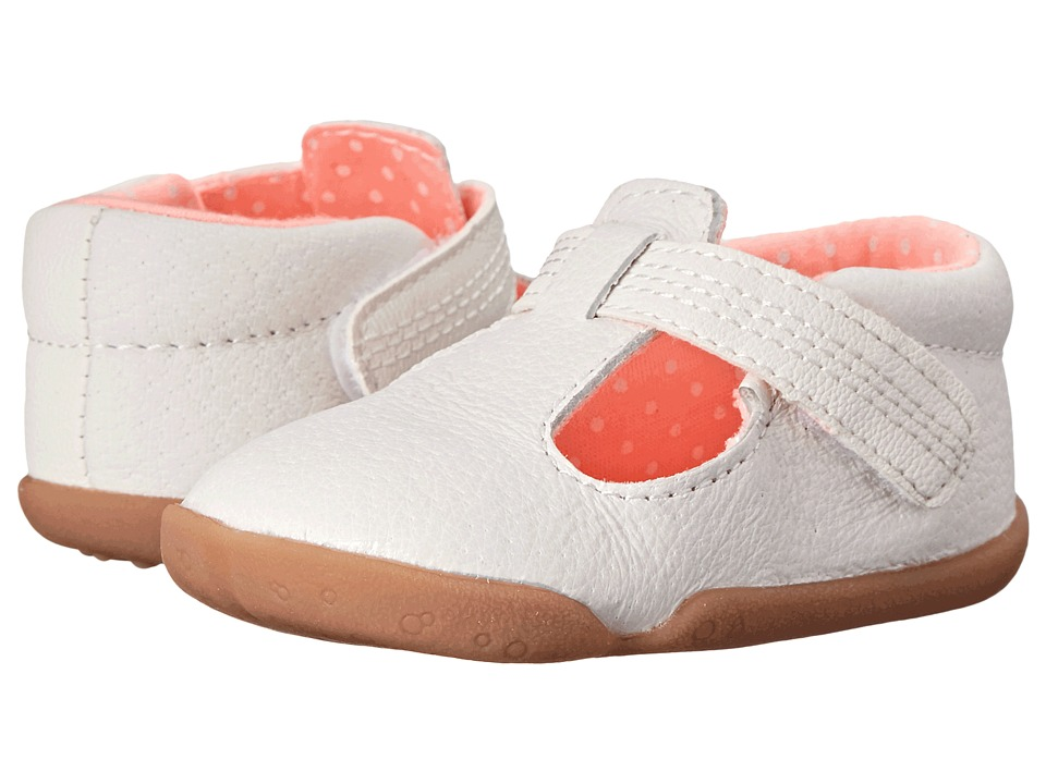 Carters - Becca (Infant/Toddler) (White/Pink) Girl's Shoes