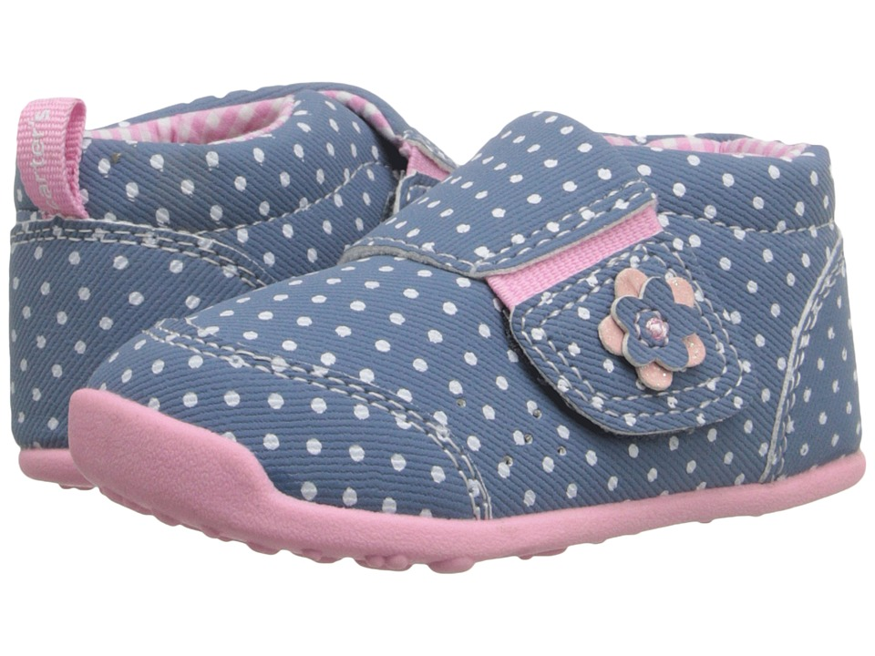 Carters - Eve (Toddler) (Blue/Light Pink) Girl's Shoes