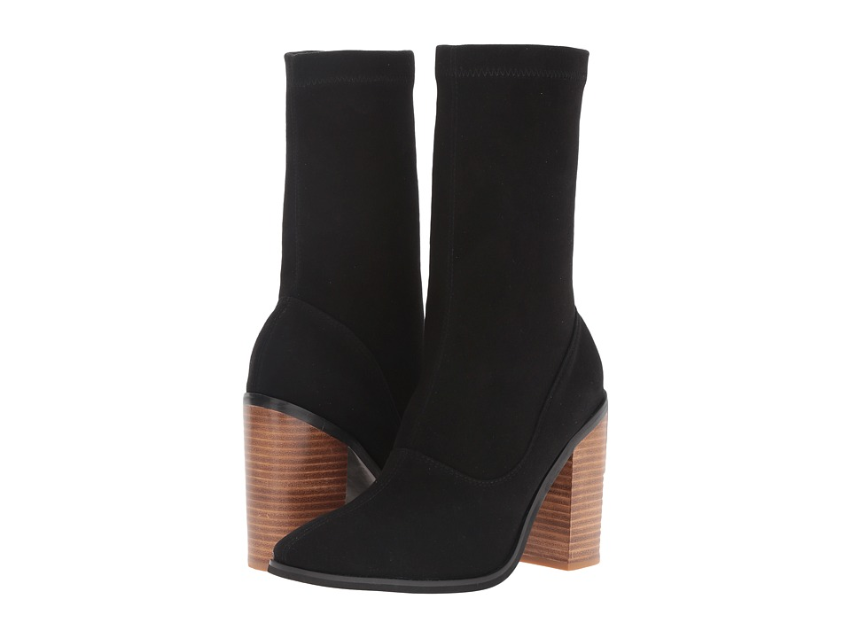 Sol Sana - Chloe Boot (Black Suede) Women's Boots