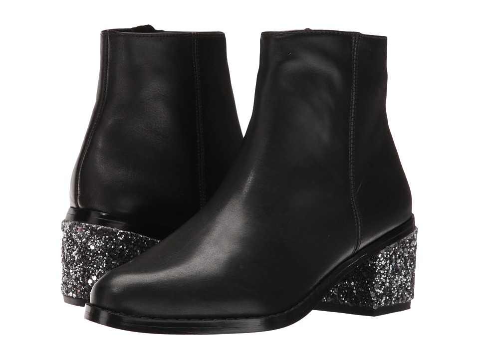 Sol Sana Jenni Boot (Black/Steel Glitter) Women