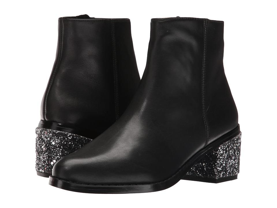 Sol Sana - Jenni Boot (Black/Steel Glitter) Women's Boots