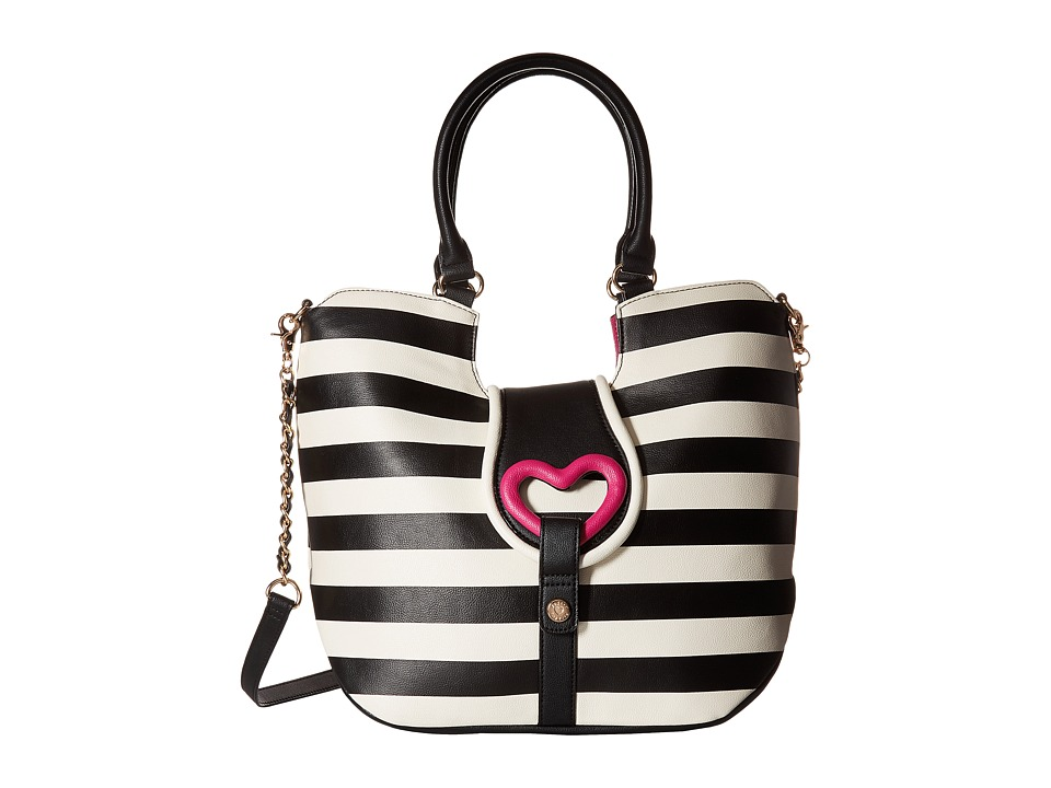 Betsey Johnson - Loop Di Loo Tote (Stripe) Tote Handbags