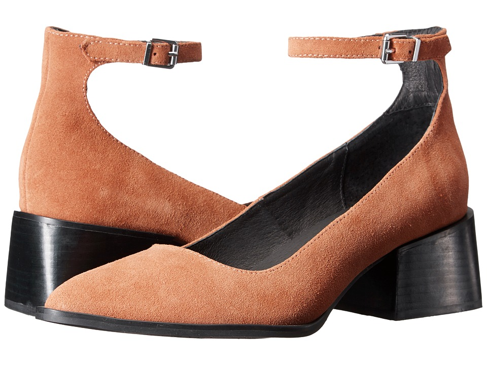 Sol Sana - Donna Mary Jane (Cognac Suede) Women's Maryjane Shoes