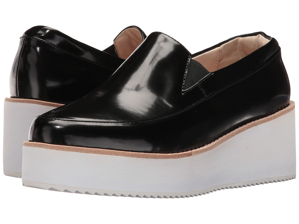 Sol Sana - Tabbie Wedge (Black) Women's Wedge Shoes