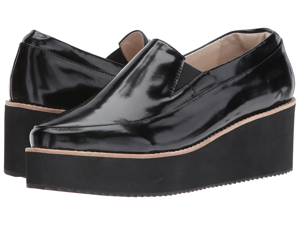 Sol Sana - Tabbie Wedge (Black/Black) Women's Wedge Shoes