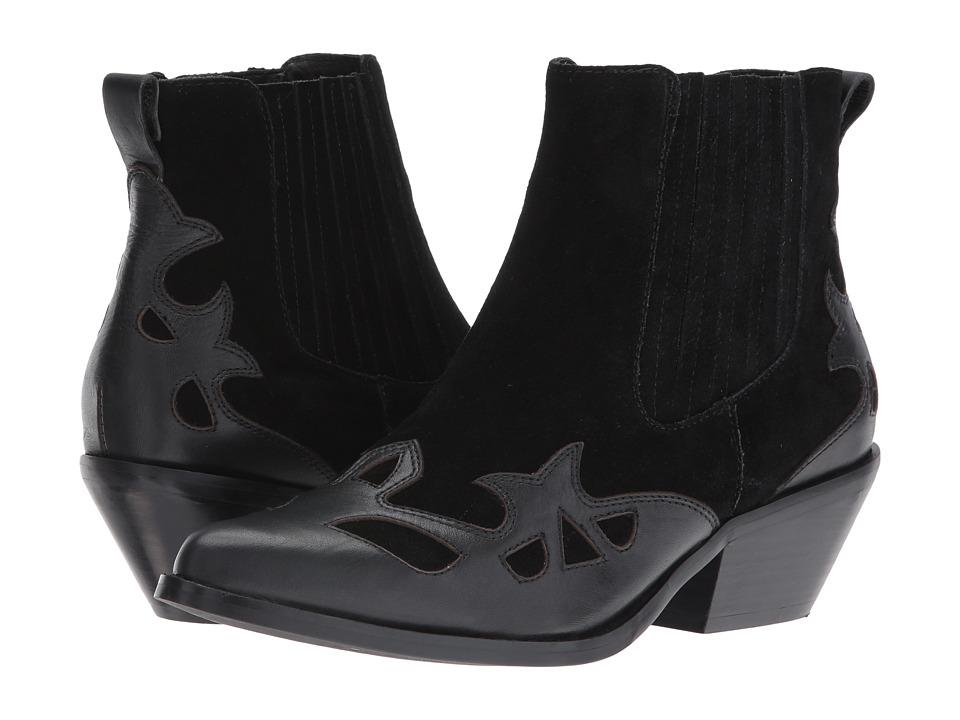 Sol Sana - Western Boot (Black) Women's Boots