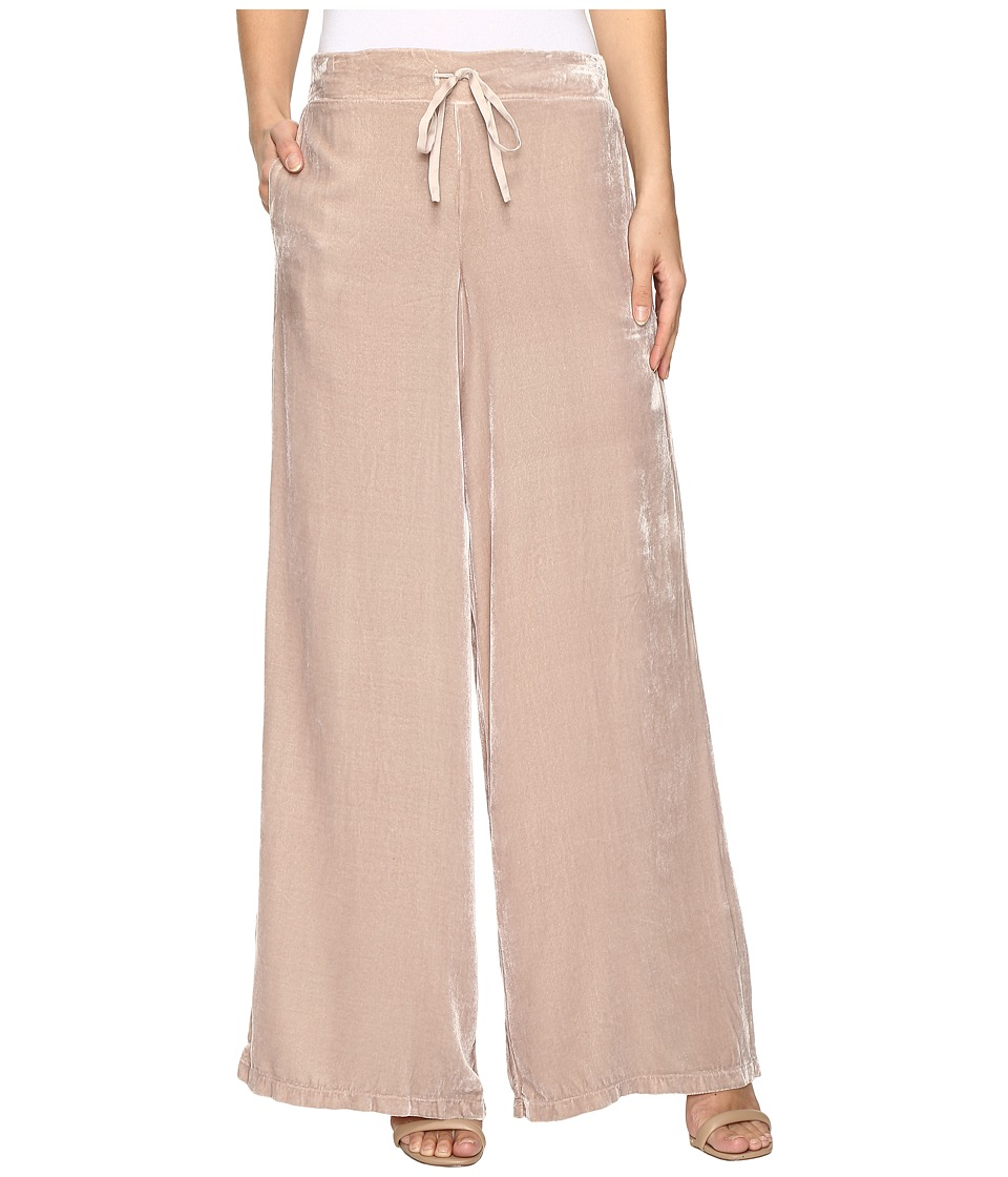 Young Fabulous & Broke - Bryson Velvet Pants (Stone) Women's Casual Pants